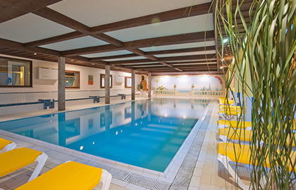 Indoor Pool & Sauna - Hotel Alte Post Faistenau