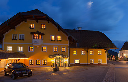 Location & Journey - Hotel Alte Post Faistenau