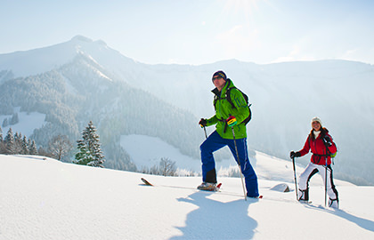 Ski Touring and Snow Shoes - Hotel Alte Post Faistenau