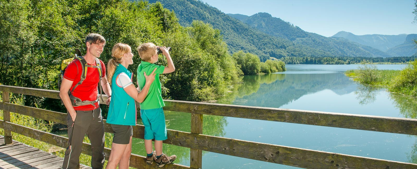 Familie am Hintersee